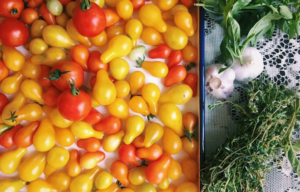 Rainbow Cherry Tomato Confit | Kitchen Witch