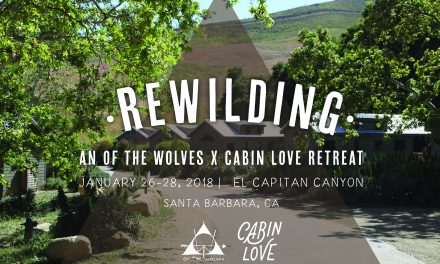 REWILDING. An OTW Retreat Series Kicks Off in Santa Barbara with Cabin Love