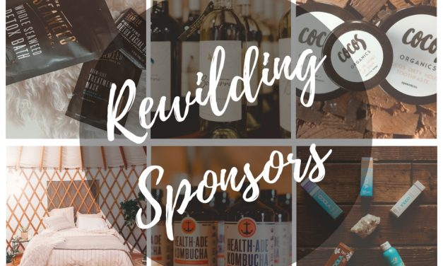 Hats Off | Special Thanks to our REWILDING Sponsors