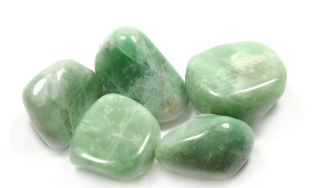 Crystal Clearing   Green Moonstone