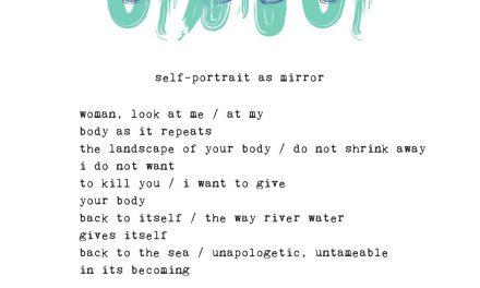 Body, Landscape, Mirror | Typewriter Poems Series