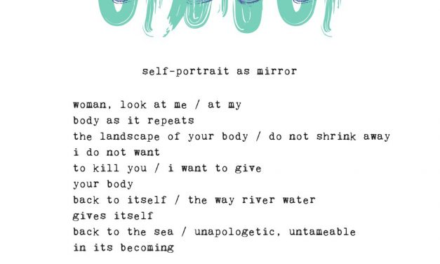 Body, Landscape, Mirror | Typewriter Poems Series