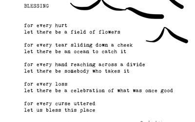 Blessings: Typewriter Poems Series